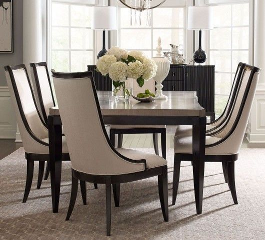 Symphony Platinum Black Tie Upholstered Back Side Chair Set Of 2 In 2020 Black Dining Room French Country Dining Room Beige Dining Room
