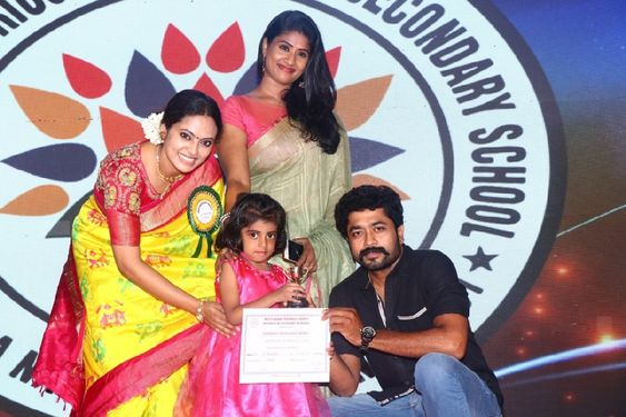 Actress Yamuna At Meenakshi Matriculations Higher Sec School & Trust 36th Annual Day Function