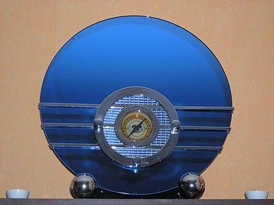 1936 Spartan Bluebird Radio.  Earlier models of this were sold at the 1933-34 World's Fair.