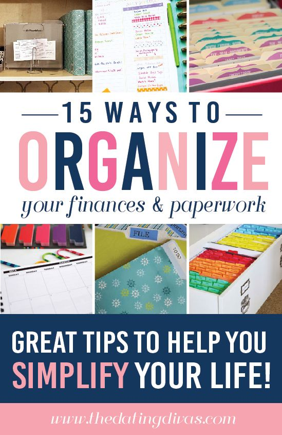 My new years resolution is to budget and organize better -this is the way! www.TheDatingDivas.com