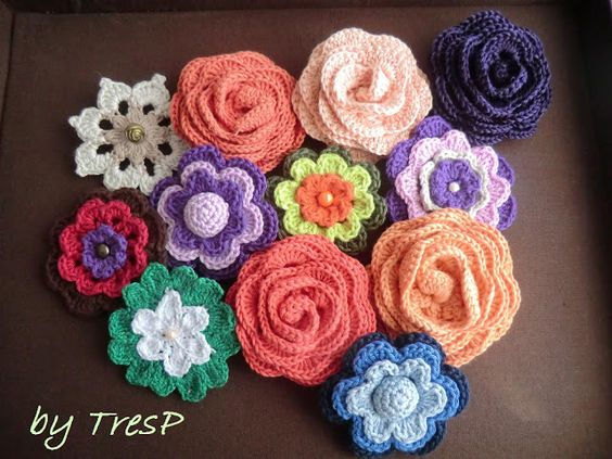 TresP craft blog: Crochet/Ganchillo