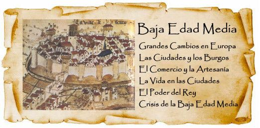 La Baja Edad Media Baja Edad Media Edad Media Tema