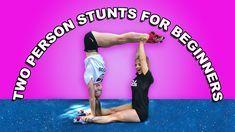 Partner Gymnastic Tricks The Rybka Twins Two Person Yoga Poses Two Person Yoga Gymnastics Tricks