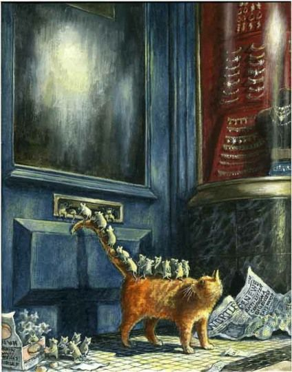 Graham Oakley - The gallery of the Church Mice and the Ring