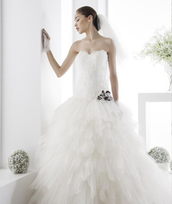 Abito da Sposa Jolies  JOAB14034IVBR 2014