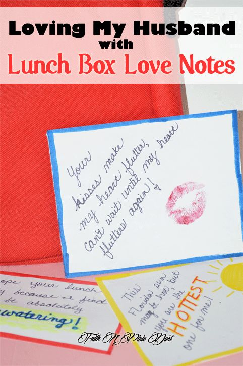 This is a photo of Universal Free Printable Lunchbox Notes for Husband