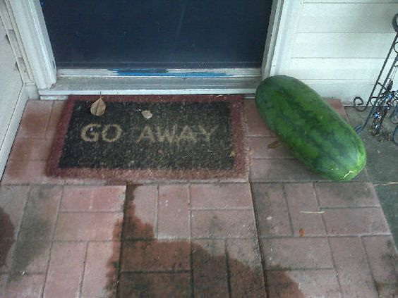 leave it at the door