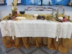 Mesa Ceia de Ano Novo na Igreja-6