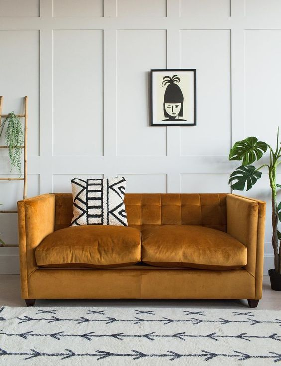 Mustard Yellow Color Trend Interior Decor Ideas Click To Discover More Inspirations Living Room Decor Modern Trendy Living Rooms Trending Decor