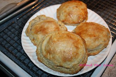 Peach Bourbon Pastry Pies.  You can use any fruit you like.  These are just to die for.  A must try