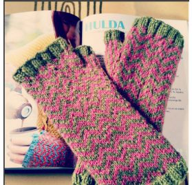 """Hulda"" von Clara Falk aus Cornish Organic Wool DK"