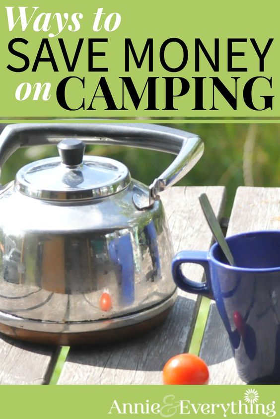 Even camping can be expensive if you aren't careful! This list of ways to save money on it helped me a lot. Especially #3!