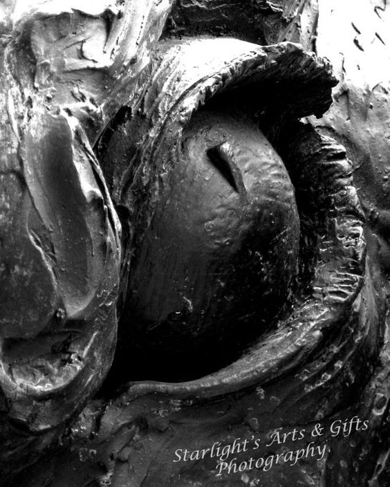 Abstract Photography Eye of a Statue black and by StarlightsGifts, $30.00