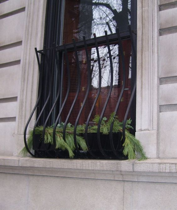 Pinterest the world s catalog of ideas for Exterior window grill design