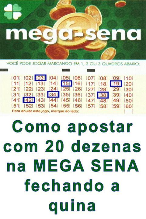 Fechamento Mega Sena Com 20 Dezenas Lotomania Como Ganhar Mega Sena Numeros Da Mega Sena