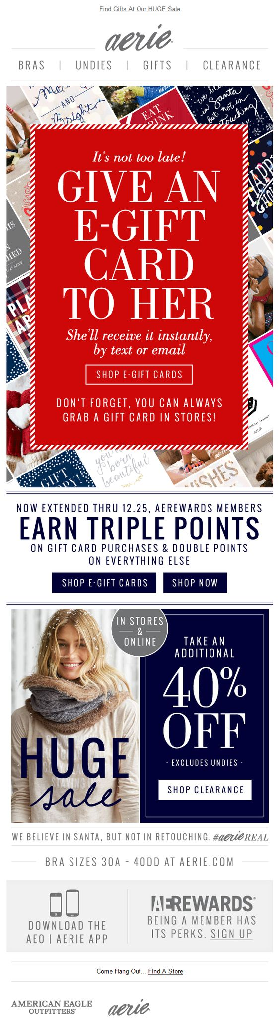 aerie email