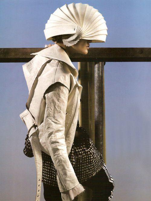 dustulator:    Sasha Pivovarova in Samurai Fiction shot by Mark Segal for Vogue Paris October 2007