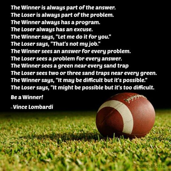 Quotes About Winners And Losers In Sports Winners and los...