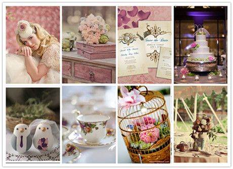 Vintage wedding theme 1930s wedding themes and vintage for Vintage theme ideas