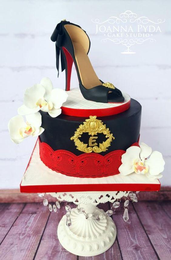 High Heel Elegance - Cake by Joanna Pyda Cake Studio