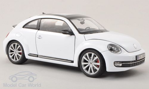 VW Beetle, weiss
