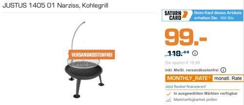 Justus 1405 01 Feuerschale Und Schwenkgrill Narziss 55 Cm