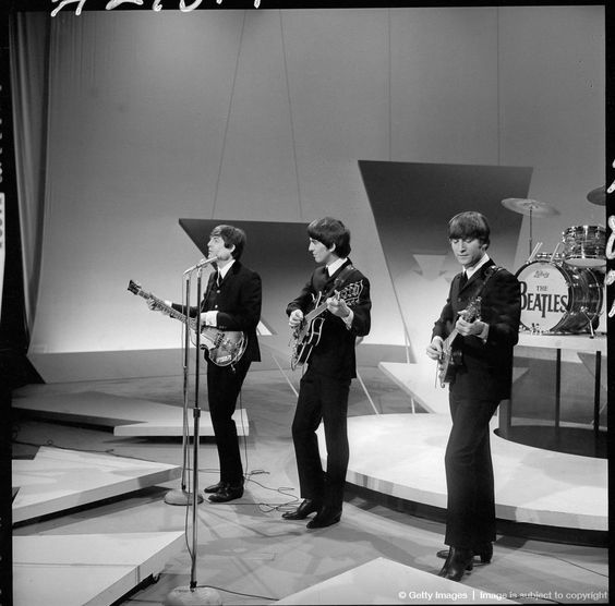 FEBRUARY 9: THE ED SULLIVAN SHOW featuring The Beatles, performing on Sunday, February 9, 1964, from CBS's Studio 50 in New York City.