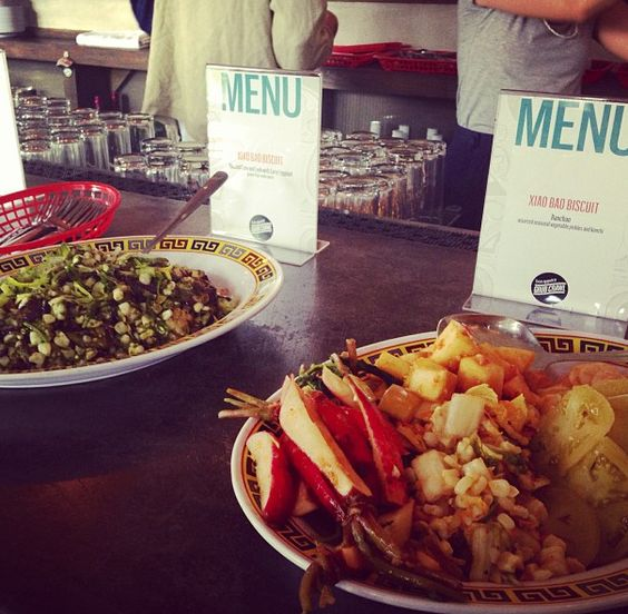 Deliciousness at Xiao Bao Biscuit @Bon Appetit Magazine's Charleston # ...
