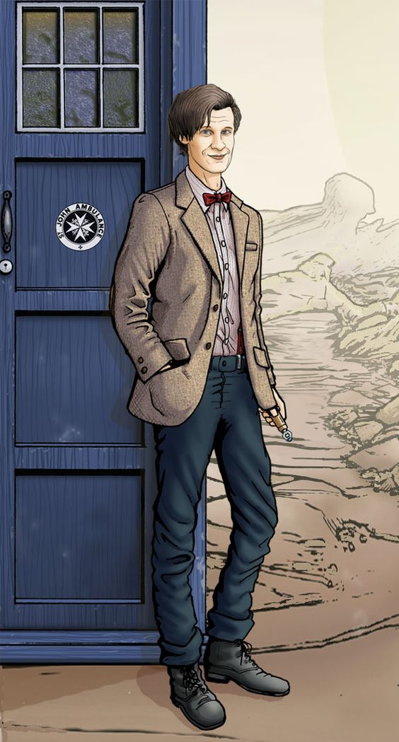 The 11th Doctor, Matt Smith by *PaulHanley on deviantART