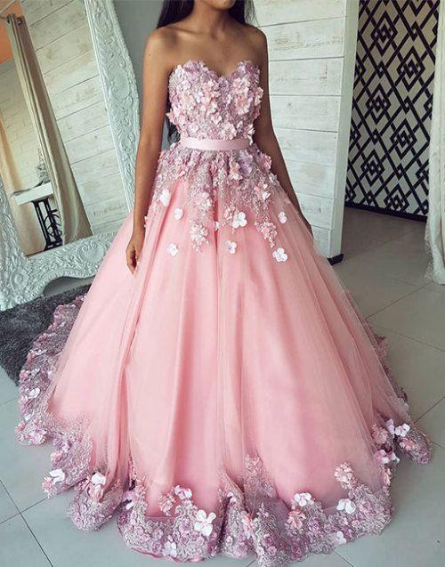 Pi Mi Prom Dresses Ball Gown Pink Prom Dresses Prom Dresses Uk
