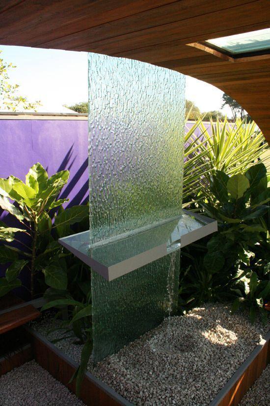Nz Waterfall Water Feature Ellerslie Flower Show Christchurch New