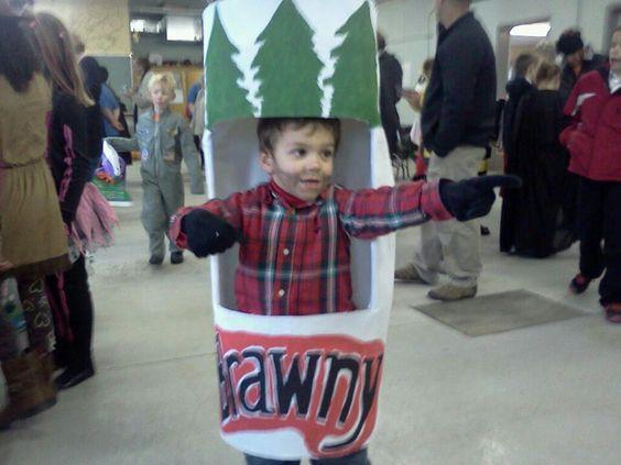 Brawny Man costume