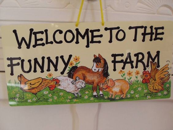 SMILEY SIGNS ONE NERVE GARDEN MOON AND BACK BATHROOM LAUNDRY RULES DOGS HORSES | eBay
