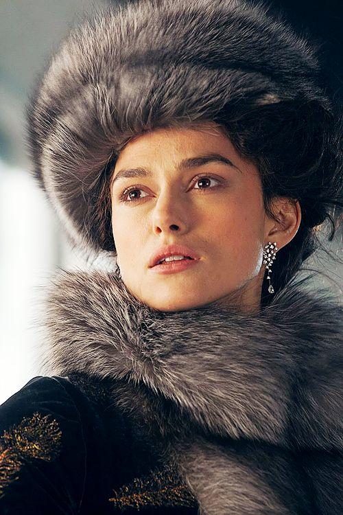 Keira Knightley in Anna Karenina, costume.