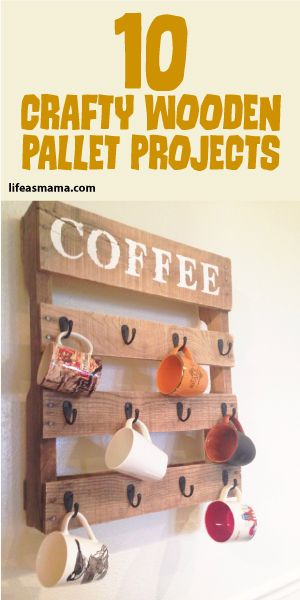 10 Crafty Wooden Pallet Projects