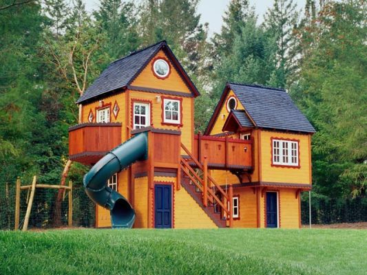 Playhouse freaking amazing my kids will have this for Big kid playhouse
