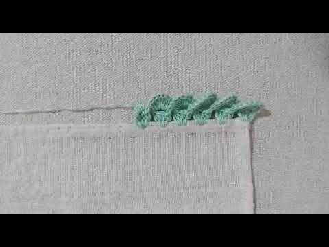 Bico De Croche Carreira Unica Muito Facil Com Video Aula Passo A