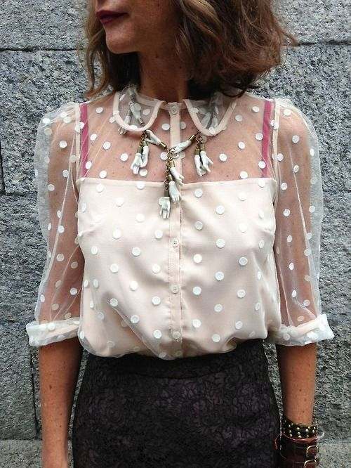 Transparent / shirt / vintage / retro / lovely