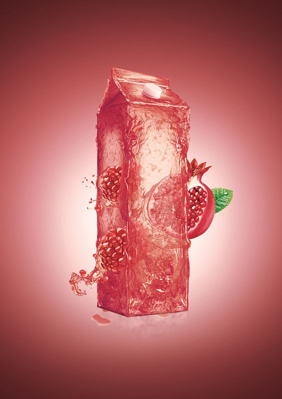 Natural Juice on Behance