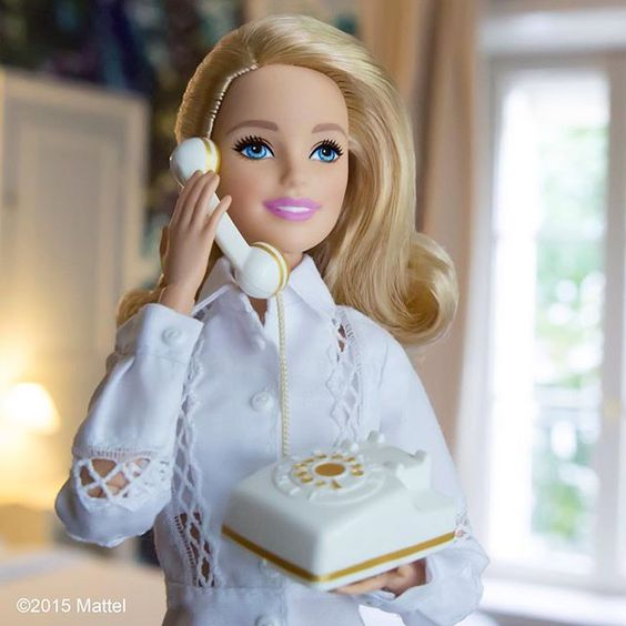 The o 39 jays barbie and telephone on pinterest - Telephone barbie ...