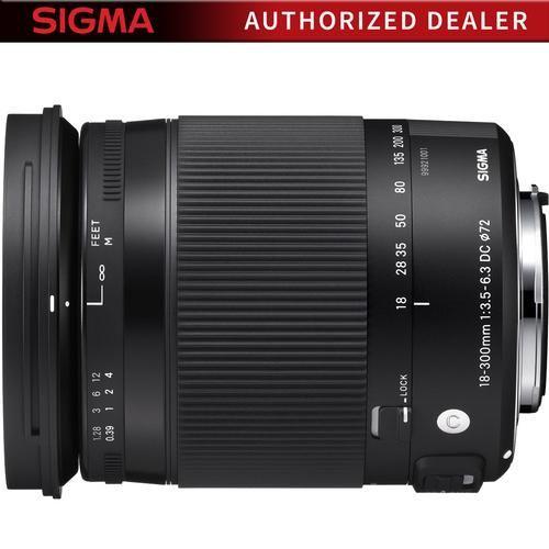 Sigma 18 300mm F3 5 6 3 Dc Macro Os Hsm Lens Contemporary For Canon Ef Cameras In 2021 Nikon Dx Dslr Camera Nikon