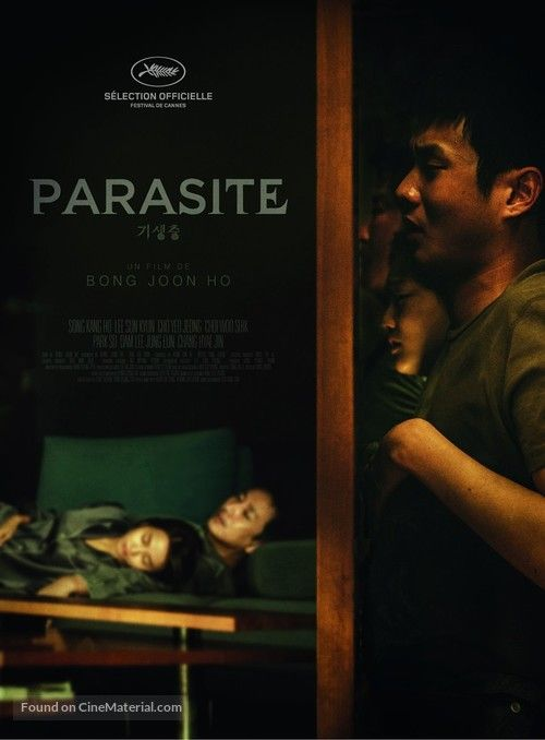 Parasite 2019 French Movie Poster In 2020 French Movie Posters Cinema Posters Film Books