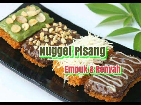 Resep Nugget Pisang Makanan Hits Jaman Now Youtube Makanan