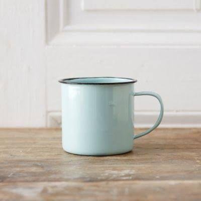 tin coffee mugs