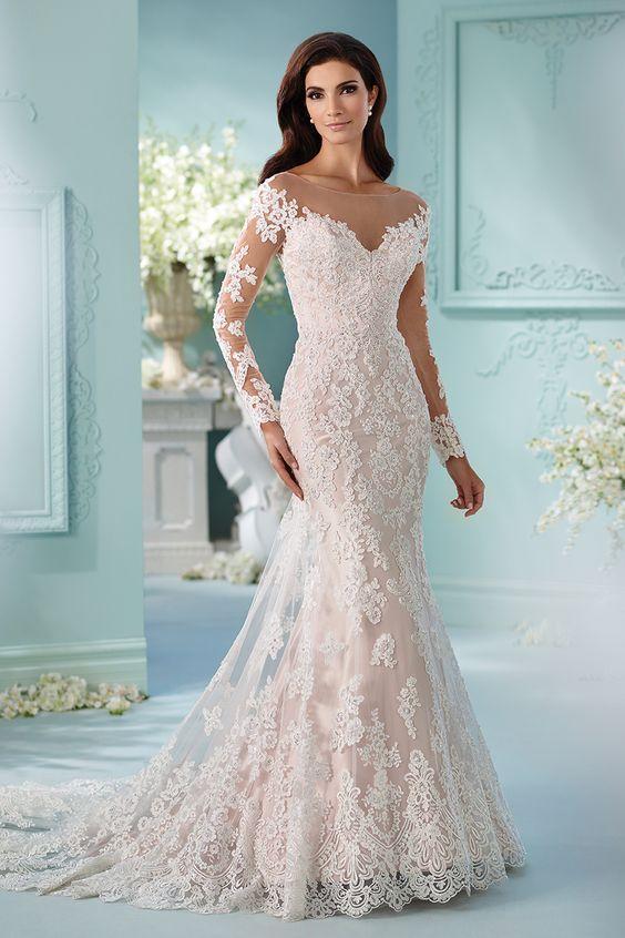 Сватбена рокля от Дейвид Тутера за Mon Cheri