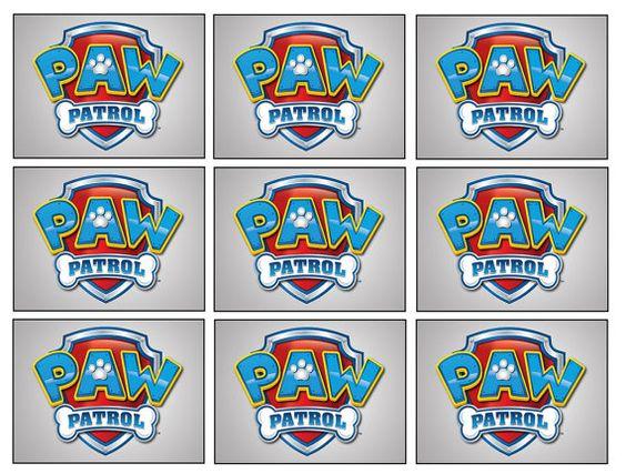 18 Paw Patrol Badge Stickers Paw Patrol Party by Stickertime101, $3.50