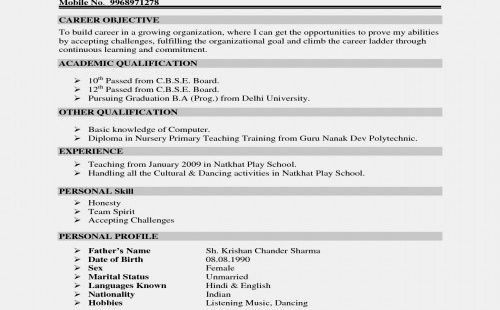 79 Beautiful Photos Of Resume Objective Examples For Beginners Resume Objective Examples Resume Profile Resume Profile Examples