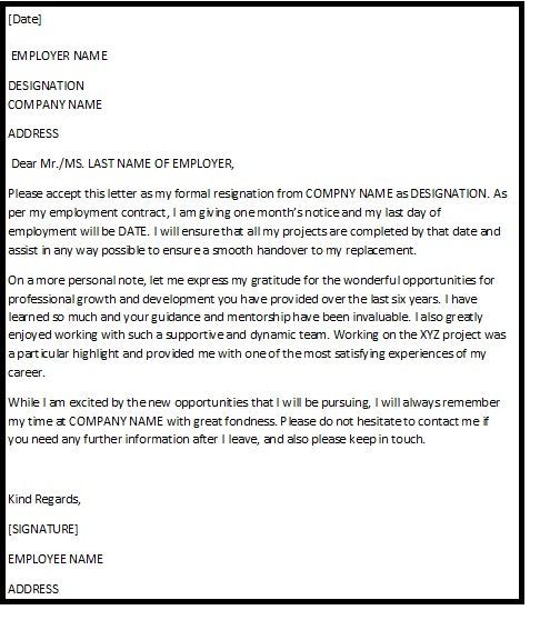 Pin by Oluchy Aneke on Wedding | Resignation letter ...
