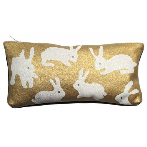 Buy Gold Rabbit Purse Large from Bloomsbury Store: Introducing the Gold Rabbit Purse, the perfect companion for your handbag. Discover women's accessories and more at Bloomsburystore.com