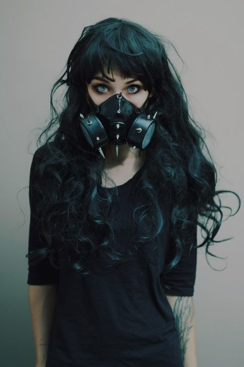 Since the campus air is so bad, maybe a cool looking gas mask can help me not get horribly ill.  As long as it has filters..